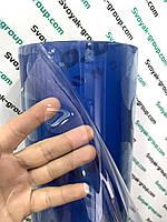 Силиконовая пленка мягкое стекло на стол 500 мкм - 1,5х31 м.Прозрачная.