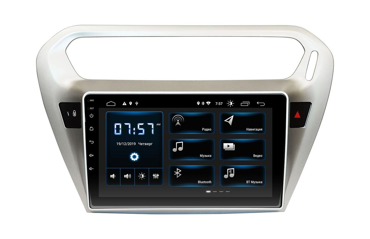 Штатная автомагнитола Incar XTA-7001 для Peugeot 301