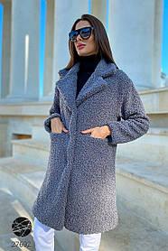 Пальто жеское из искусственного меха