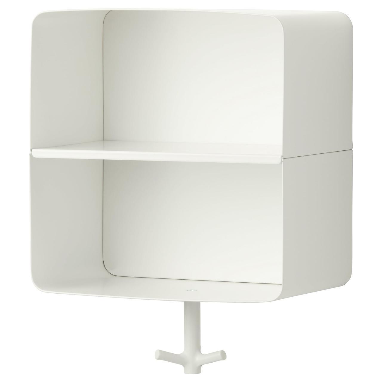 IKEA BRICKAN (502.994.08) Настенная полка, белая