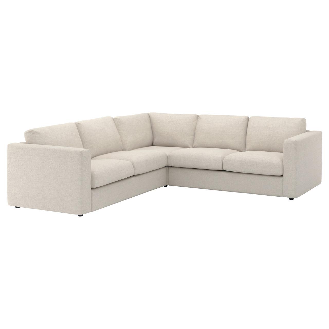IKEA VIMLE (892.113.77) 4-местный угловой диван