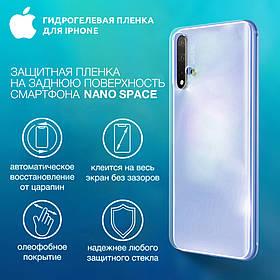 Гидрогелевая пленка для iPhone 11 Pro Max  Глянцевая противоуданая на заднюю поверхность | Полиуретановая пленка