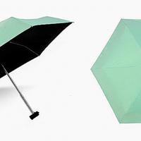 Міні-парасольку кишеньковий у футлярі М'ятний