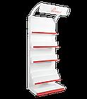 Стеллаж для книг 1900х1200 мм, приставной книжный стеллаж Ристел, фото 3