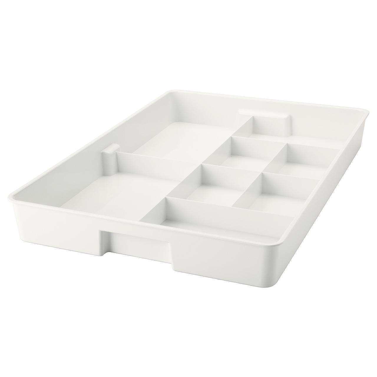 IKEA KUGGIS (002.802.08) Вставка с 6 отсеками, белый