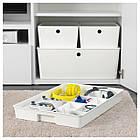IKEA KUGGIS (002.802.08) Вставка с 6 отсеками, белый, фото 2