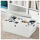 IKEA KUGGIS (002.802.08) Вставка с 6 отсеками, белый, фото 3
