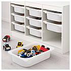 IKEA TROFAST (292.284.70) Шкаф с контейнерами, белый,, фото 3
