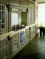 Кухня деревянная