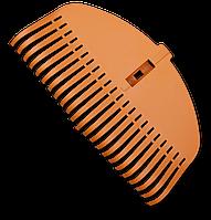 Грабли пластиковые TQ, 23 эластичных зубцов, без черенка