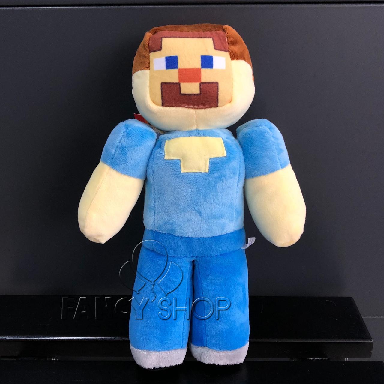 "Іграшка мяка ""МАЙНКРАФТ. Стів"", Мягкая игрушка ""Minecraft. Steve"""