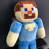 """Іграшка мяка """"МАЙНКРАФТ. Стів"""", Мягкая игрушка """"Minecraft. Steve"""", фото 2"""
