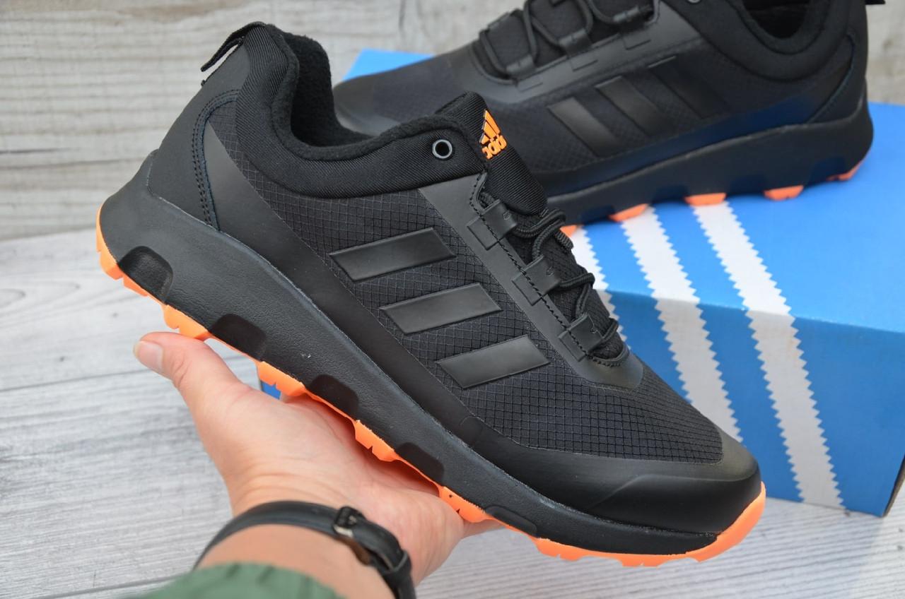 """Кроссовки Adidas Climaproof """"Черные/Оранжевые"""""""