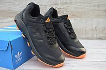 """Кроссовки Adidas Climaproof """"Черные/Оранжевые"""", фото 3"""