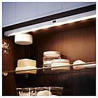 IKEA STOTTA (202.771.39) Светодиодная световая полоса, белая батарея, фото 3