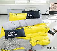 Семейный комплект постельного белья из котиками, Ранфорс