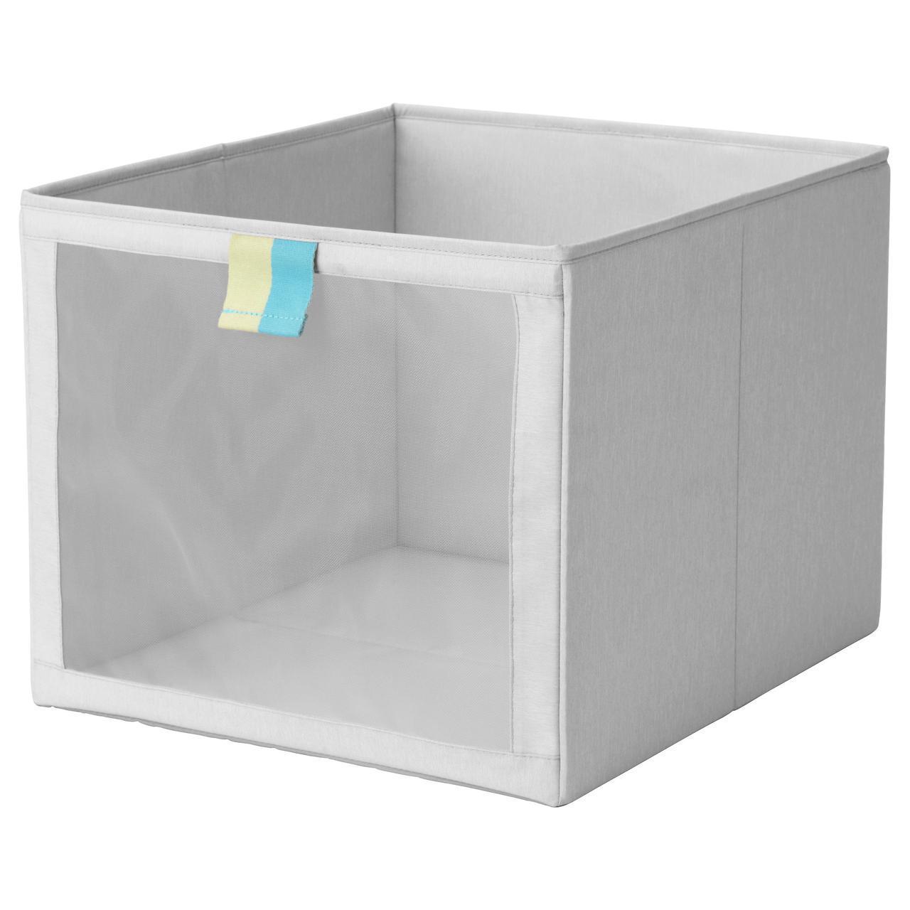 IKEA SLAKTING (603.279.34) Ящик-Коробка серый