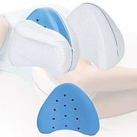 Подушка ортопедическая для ног и коленей Contour Legacy Leg Pillow 1999 Белая
