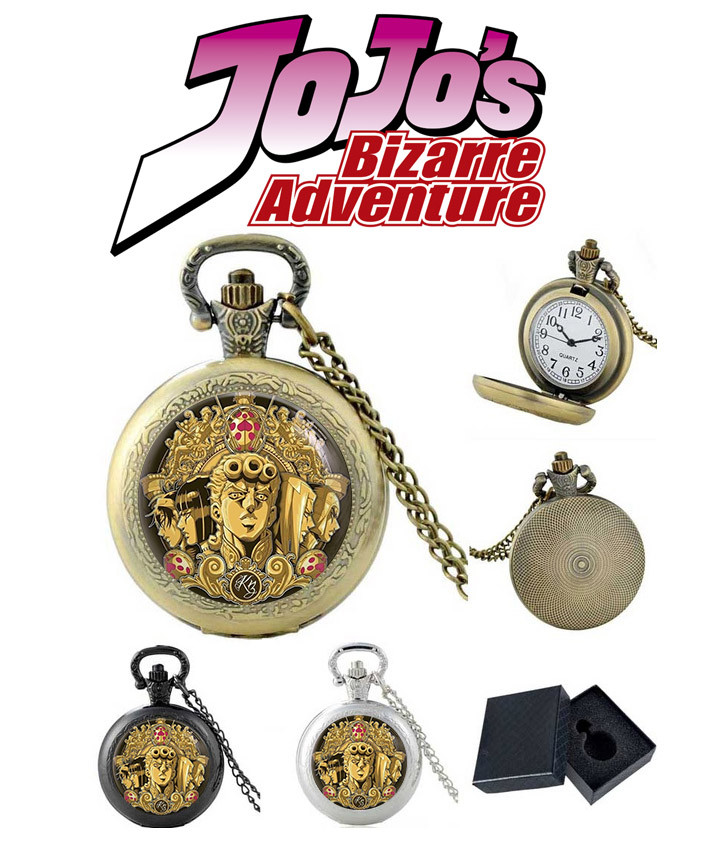 """Карманные часы ДжоДжо """"Император"""" / Jojo`s Bizarre Adventure"""