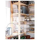 IKEA SAMLA (101.103.00) Крышка 5-литровая, прозрачная, фото 2