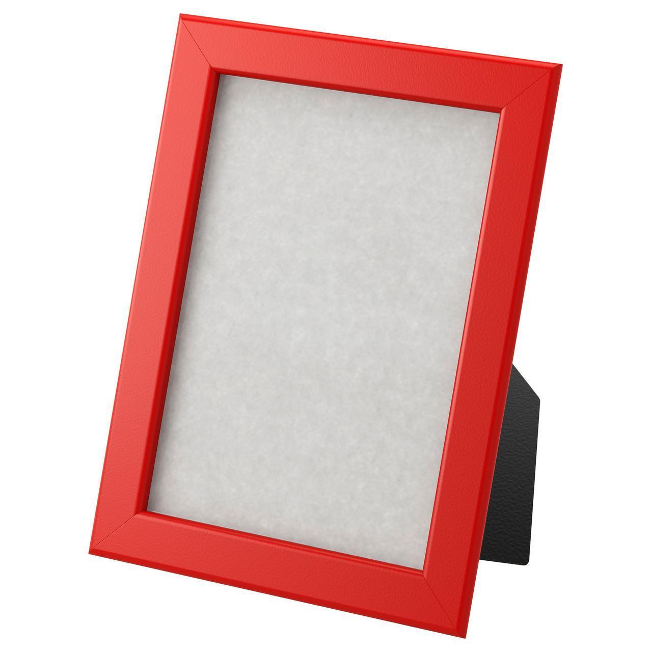IKEA FISKBO (703.003.59) Рамка, красная