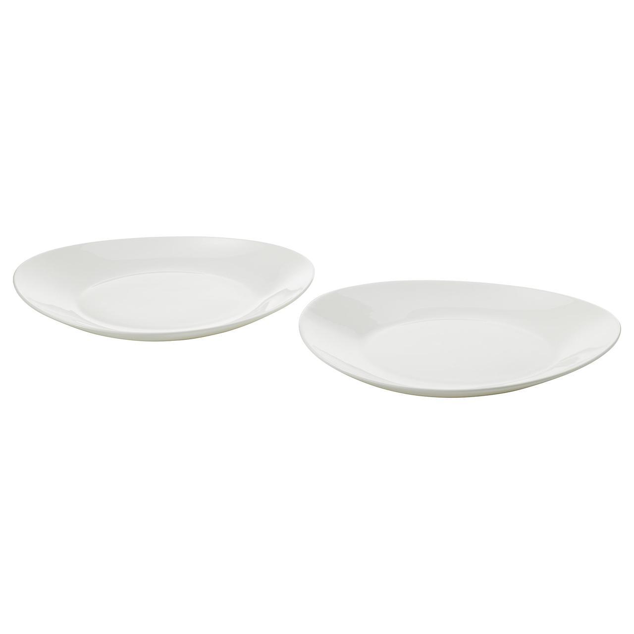 IKEA Набор тарелок SKYN ( 201.767.72)