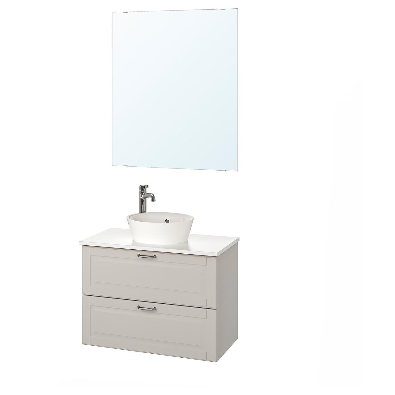 IKEA Комплект мебели для ванной GODMORGON/TOLKEN / KATTEVIK ( 293.159.57)