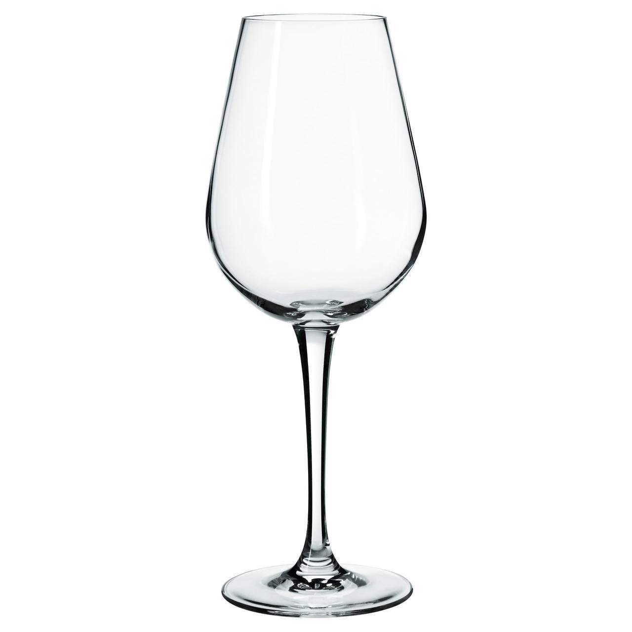 IKEA HEDERLIG (802.358.39) Бокал для белого вина, бесцветное стекло