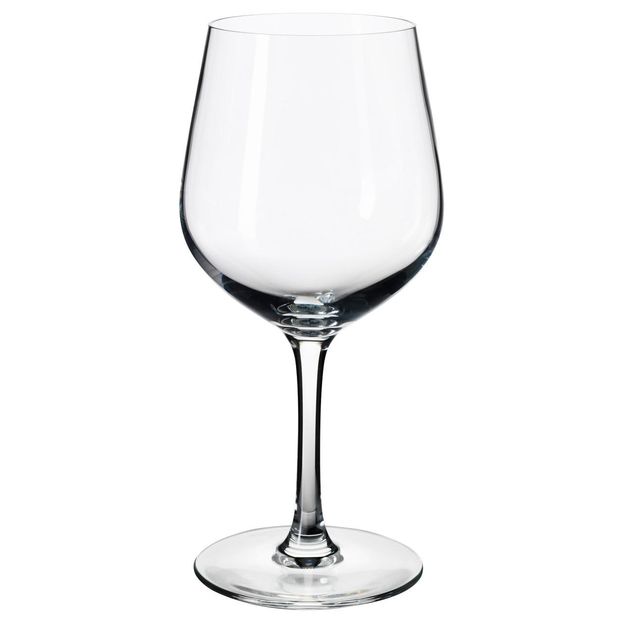 IKEA IVRIG (702.583.17) Бокал для красного вина, прозрачное стекло