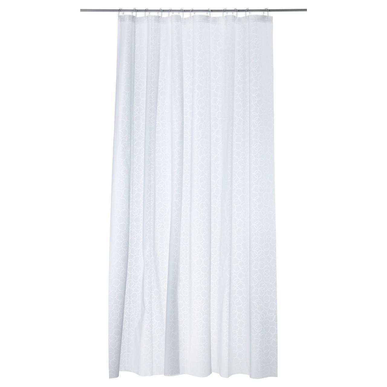 IKEA INNAREN (502.952.69) Занавес для душа, белый