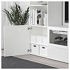 IKEA TJENA (103.954.21) Контейнер с крышкой, белый, фото 5