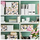 IKEA TJENA (103.954.21) Контейнер с крышкой, белый, фото 8