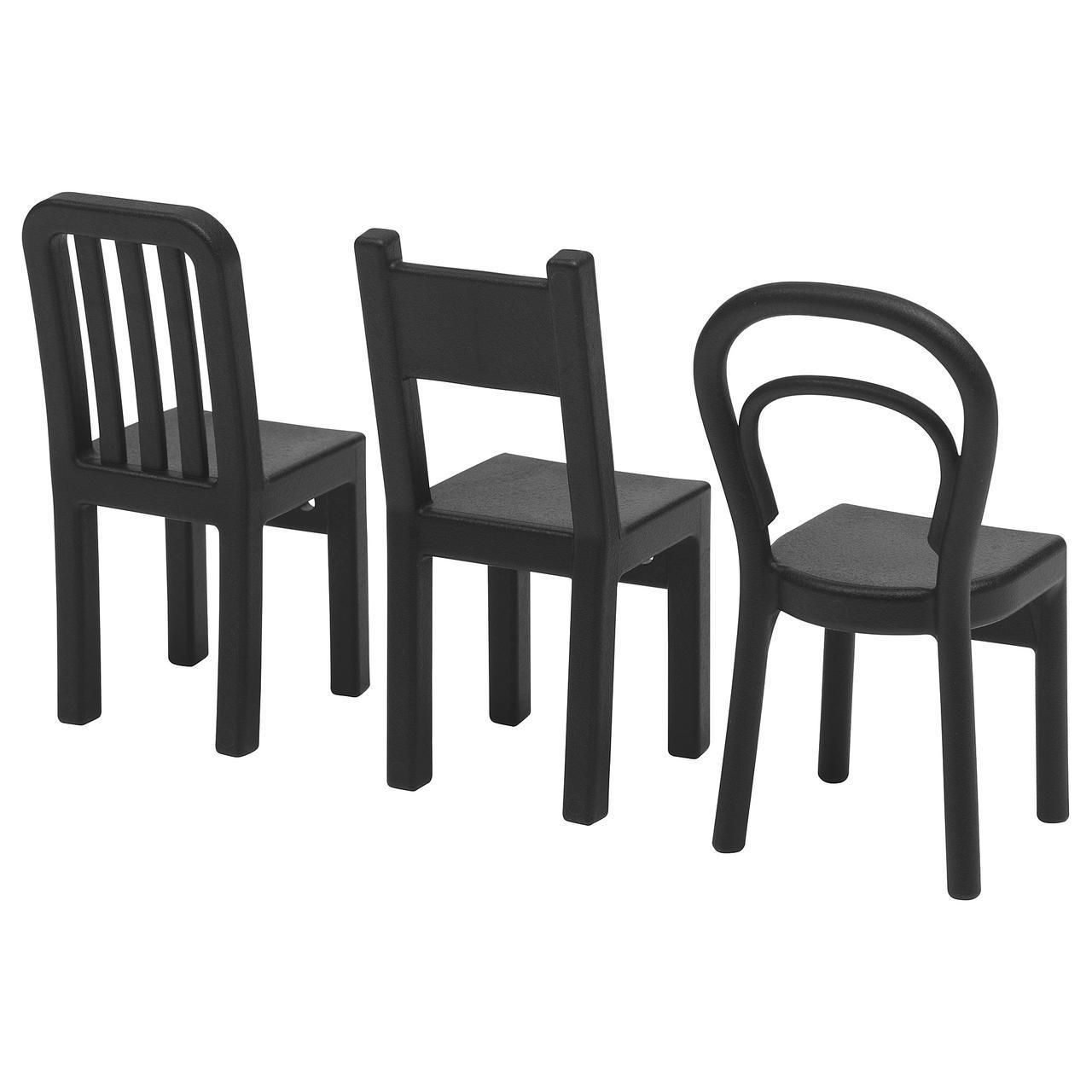 IKEA FJANTIG (603.471.02) Крючок черный