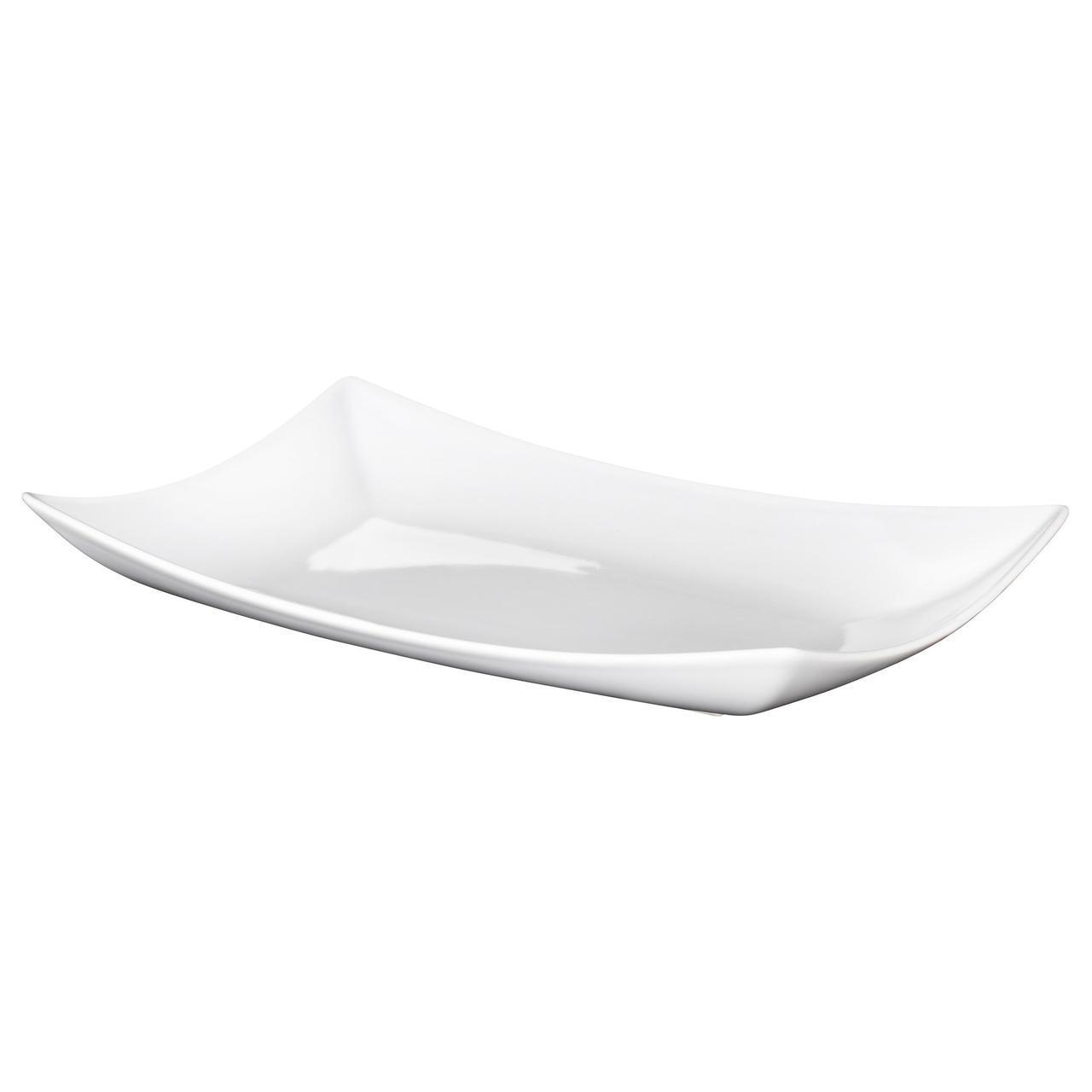 IKEA MYNDIG (701.766.75) Тарелка, белый