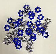 Стразы Конус Цветок Пластик 10 мм (50 штук), фото 2