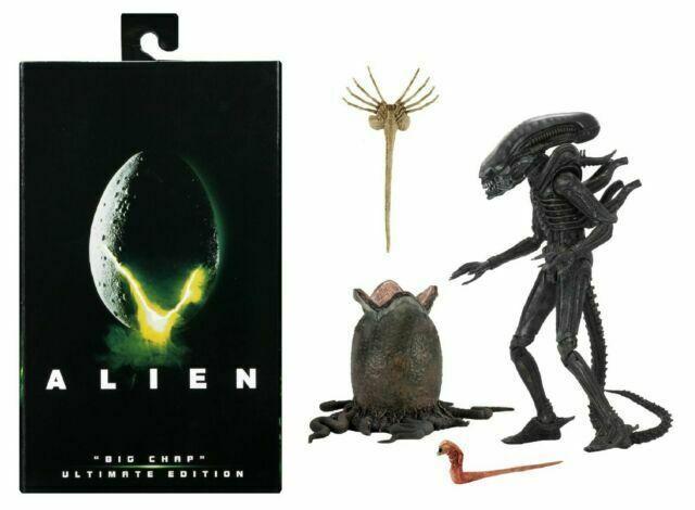 Фігурка класичного Чужого Великий хлопець 1979 - Big Chap Alien 1979, Ultimate Series Action Figure