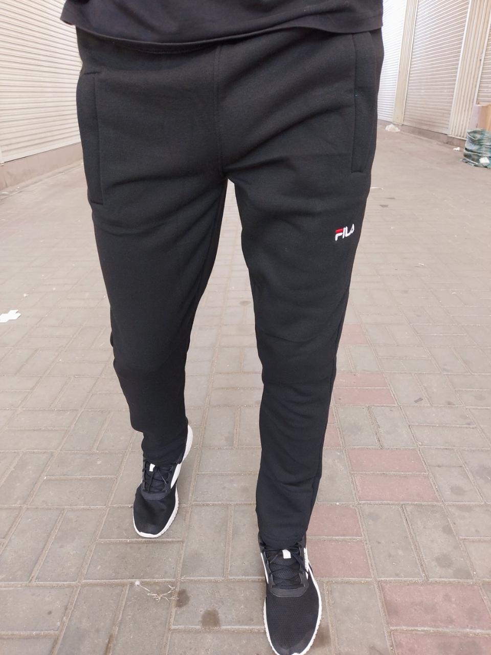 Мужские спортивные штаны на флисе оптом