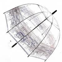 Прозрачный зонт трость Zest Город ( механика ) арт. 51570-9