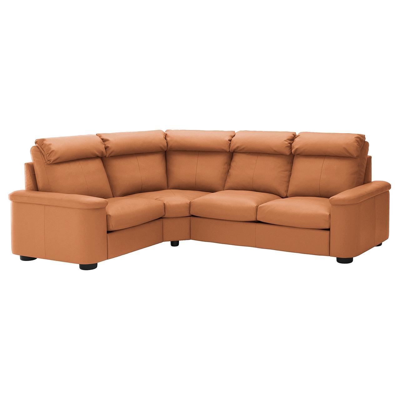 IKEA Диван кожаный LIDHULT ( 892.574.26)