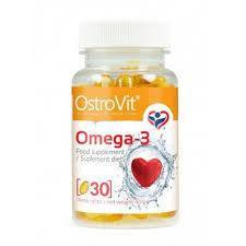 Рыбий жир OstroVit Omega 3 30 caps
