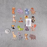Термотрансферні Наклейки для Тканини FOREST ANIMALS