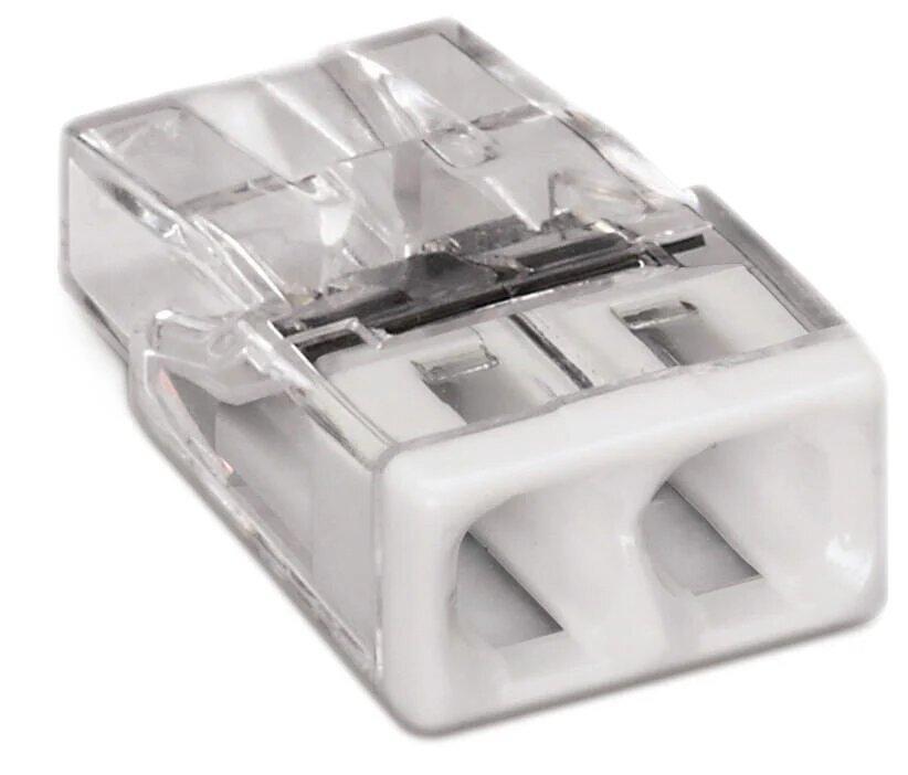 Соединитель COMPACT для распределительных коробок 2-проводные клеммы без пасты.
