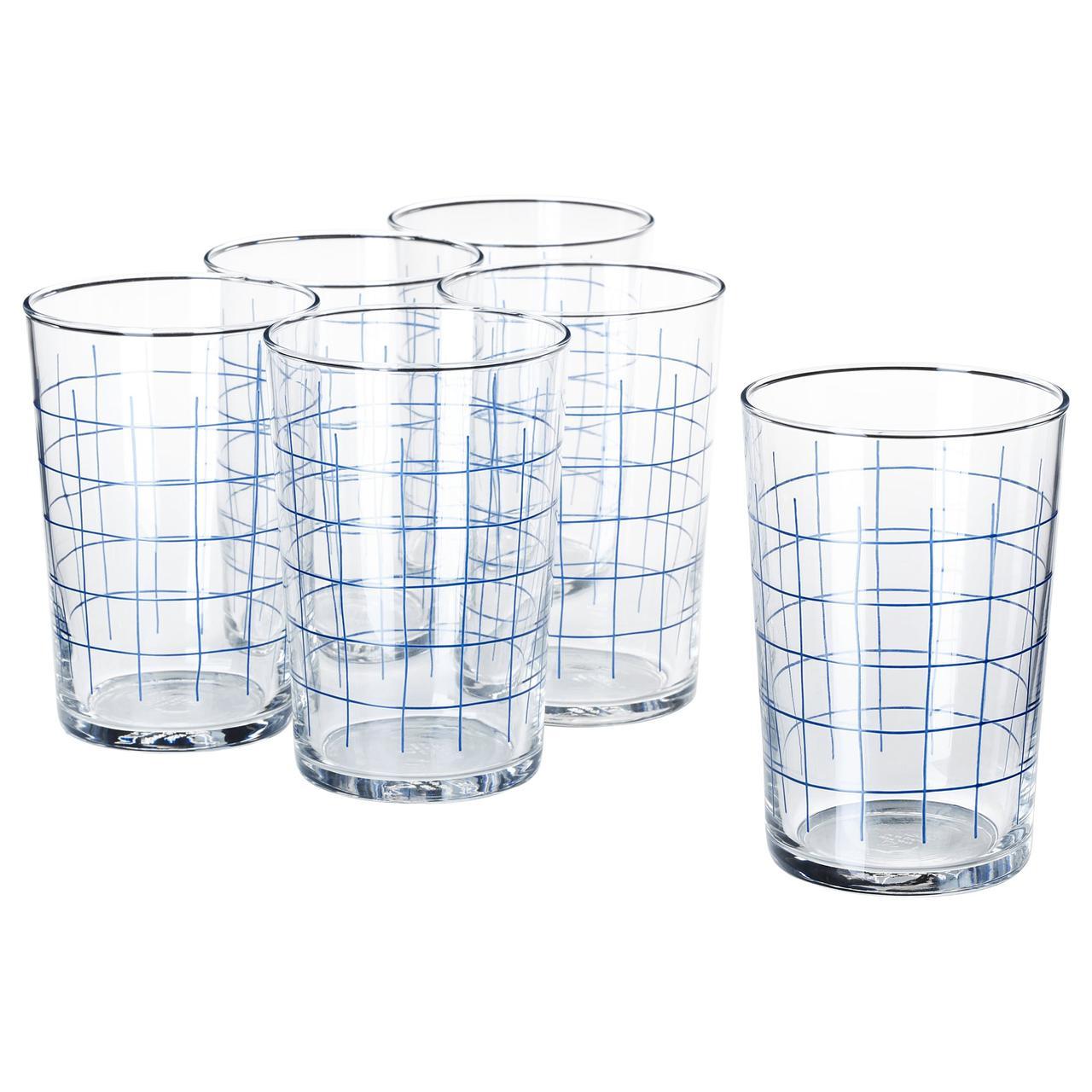 IKEA Набор стаканов SPORADISK (004.158.96)