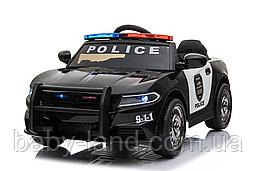 Электромобиль детский аккумуляторный EVA колеса T-7654 черный