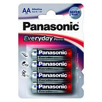 Батарейки Panasonic EVERYDAY POWER AA/LR06 ALKALINE BL4 (щелочные)