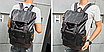 Рюкзак чоловічий шкіряний міської Classic, фото 5