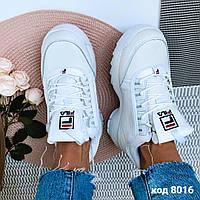 Кожаные  зимние кроссовки 36 размер, фото 1