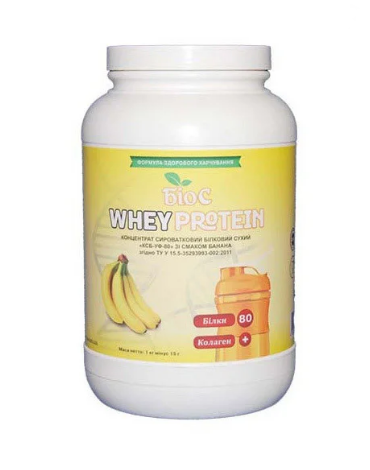 Протеин сывороточный БИОС Whey Protein 80% 1 kg