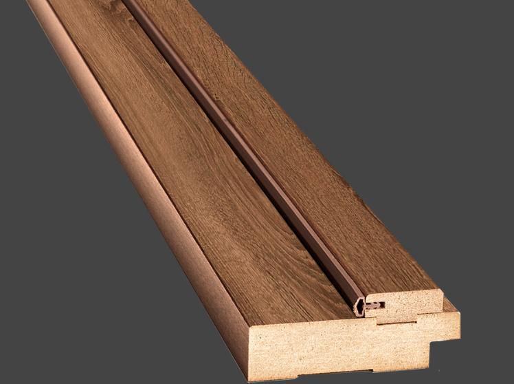Коробка ПВХ Delux деревянная,100х32х2050 мм с уплотнителем Новый стиль (комплект)