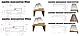 Коробка ПВХ Delux деревянная,100х32х2050 мм с уплотнителем Новый стиль (комплект), фото 10